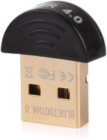 GADGET DEALS Bluetooth (Plug & Play) CSR 4.0 Dongle USB Adapter(Black)