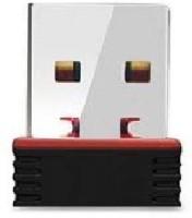 PIQANCY Wi-Fi Receiver 300Mbps, 2.4GHz, 802.11b/g/n Wireless USB Adapter(Black)