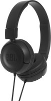 JBL T450BLACK Headset with Mic(Black, On the Ear)
