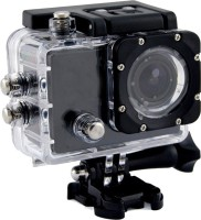 ALONZO SPORT ACTION CAMERA with 12 Mega Pixel ||1080P FULL H D resolution ||1.5 inch high resolution L C D screen ||Detachable & Rechargeable li-battery for Android, I O S, Smartphone - Black Sports and Action Camera(Black, 12 MP)