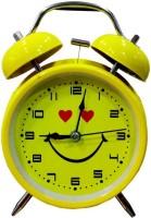 Royle Katoch Analog Yellow Clock