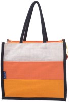 Promise Bags Perfect Eco Friendly Naturally processed Multipurpose Reusable Jute Bags Waterproof Multipurpose Bag(Multicolor, 4 L)