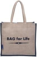 Promise Bags Multipurpose Reusable Jute Bags((Bag for life)(Grey , Black-Boarder)) Multipurpose Bag(Multicolor, 5)