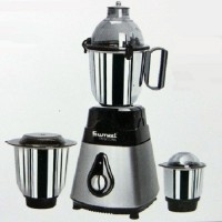 Sumeet Traditional Ranger 550 Mixer Grinder(Black And Silver, 3 Jars)