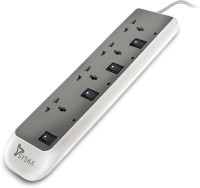 Syska EBS 0402 Individual Switch 4  Socket Extension Boards(Grey)