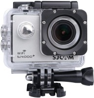 SJCAM Sports Action Camera SJ4000+ Wifi Plus 2K Novatek 96660 Gyro 170 Degree Wide Angle Lens DV with Waterproof Case and Accessories for Diving Driving Biking Camcorder(Silver)