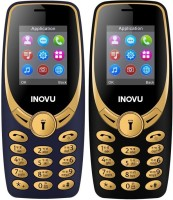 Inovu A1s Combo of Two Mobiles(Black, Gold & Blue, Gold)