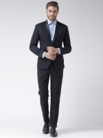 Hangup designer Solid Men Suit