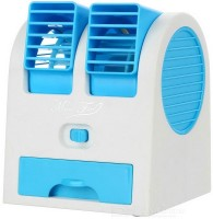View KBOOM Best Buy air electric fan mini air cooler portable rechargeable usb fan Desktop Dual Bladeless Portable Adjustable Angle Scented Air Conditioning Air Coole Personal Air Cooler(Multicolor, 0.3 Litres) Price Online(KBOOM)