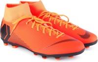Nike SUPERFLY 6 CLUB FG/MG Football Shoes For Men(Orange)