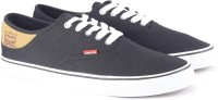 Levi's Derby Classic Sneakers For Men(Black)