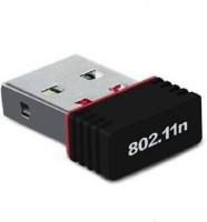 PIQANCY Mini 2.4Ghz Wireless Wifi Dongle 500Mbps 802.11n USB Connector USB Adapter(Black)