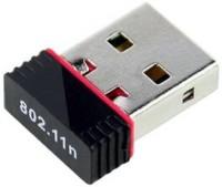 PIQANCY 300Mbps, 2.4Ghz, USB 2.0 Wireless Mini Wireless Receiver and Transmitter USB Adapter(Black)
