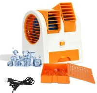 View BUY SURETY Mini USB Adjustable Angles Dual Air Outlet Fan Electric Air Fan Cooling Desktop Portable Bladeless Blower Mini Cooler Fan with USB Socket Room Desert/plastic mini fan /usb fan/mini cooler Room Tower Fan(Multicolor) Price Online(BUY SURETY)