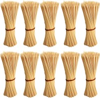 Jamboree kebab stick, roast stick, Bamboo Skewers Chocolate Fountain Wooden Fruits BARBECUE Kebab Stick Party Buffet Food Disposable Wooden Roast Fork Set (Pack of 1000) Disposable Bamboo Roast Fork Set(Pack of 1000)
