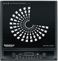 Maharaja Whiteline Chef Star Ceramic (IC-108) Induction Cooktop(Black, Touch Panel)