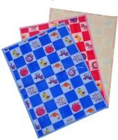 PEUBUD Plastic Baby Bed Protecting Mat(Blue, Pink, Orange, Medium)
