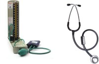 Diamond Mercury Deluxe Model BPMR 120 with Micro Tone MSI Black Stethoscope Combo Health Care Appliance Combo