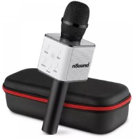 Goyal Traders Black Mic Speaker Wireless With Bluetooth Connectivity Microphone Mic(Black)
