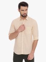CAVALLO by Linen Club Men's Checkered Casual Shirt thumbnail