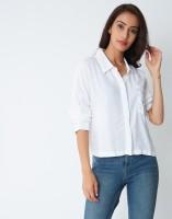 Provogue Women's Printed Casual Spread Shirt