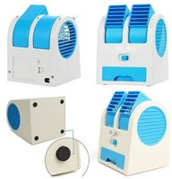 View nerr Mini Cooler USB Air Freshener E2 USB Fan (multi color) Room Air Cooler(Multicolor, 40 Litres) Price Online(nerr)