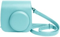 Shopizone Vintage PU Leather Case For Instax Mini 9/8/8+ Camera Bag Sky Blue  Camera Bag(Sky Blue)