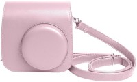 Shopizone Vintage PU Leather Case For Instax Mini 9/8/8+ Camera Bag Pink  Camera Bag(Pink)