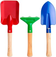 Divine Tree Kids Garden Tools Set Perfect Gift for Kids/Childrens on Christmas, Birthdays and Many More Occasions 3 Pcs Kids Gardening Toys (Trowel,Shovel,Rake) Garden Tool Kit(3 Tools)