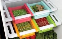 home turf Multi Purpose Storage Racks/ Refrigerator Rack/ Dining Table Rack/ Office Table Rack/ Study Table Rack/ Tray Plastic Kitchen Rack(Multicolor)