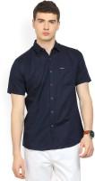 Wrangler Men's Solid Casual Spread Shirt