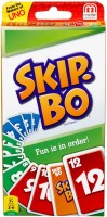 Mattel Games Skip Bo Card Game(Multicolor)