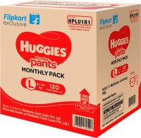 Huggies Wonder Pants Diaper - L(120 Pieces)