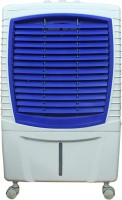 QUBIFT CoolBreeze Desert Air Cooler(White,Blue, 25 Litres)