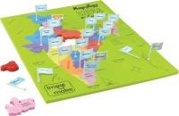 Imagimake Imagimake: Mapology India With State Capitals –Learn Indian States Along With Capital- Fun Jigsaw Puzzle – Educational Toy For Kids Above 5 Years.(24 Pieces)