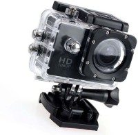 PIQANCY 1080 Action Camera Go Pro Style Sports and Action Camera(Black, 12 MP)