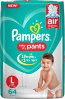 Pampers Pants Diaper - L(64 Pieces)