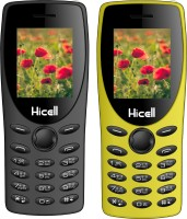 Hicell C1 Tiger Combo of Two Mobiles(Grey & Yellow)