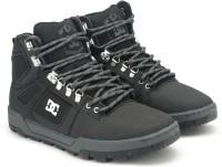 DC SPARTAN HIGH WR Boots For Men(Black)
