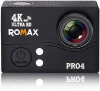 Romax Pro Pro 4 Sports and Action Camera(Black, 20 MP)