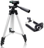TONY STARK 105cm Mobile DSLR Camera Portable 3110 Tripod(Black, Supports Up to 2000 g)