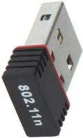 PIQANCY Wi-Fi Receiver 300Mbps, 2.4GHz, 802.11b/g/n USB 2.0 Wireless Mini Wi-Fi Network Adapter USB Adapter(Black)