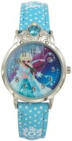 Disney Elsa Blue colour Dial Analog Watch For Girl's (AW100724) Watch  - For Girls