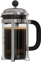 Kawachi French Press Coffee Espresso Tea Maker K452 6 Coffee Maker(Black)
