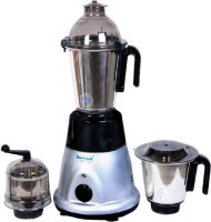 sumeet 141 750 Mixer Grinder(Grey, Black, 3 Jars)