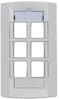 Molex Face Plate Six Port Network Interface Card(White)