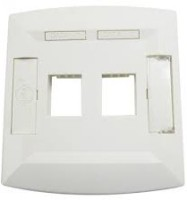 Molex Face Plate Dual Port Network Interface Card(White)