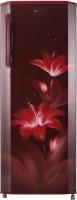 LG 270 L Direct Cool Single Door 4 Star Refrigerator(Ruby Glow, GL-B281BRGX)   Refrigerator  (LG)