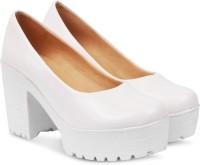 Beonza Women White Heels
