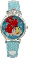 Disney Ariel Turquoise colour Dial Analog Watch (AW100727) Watch  - For Girls